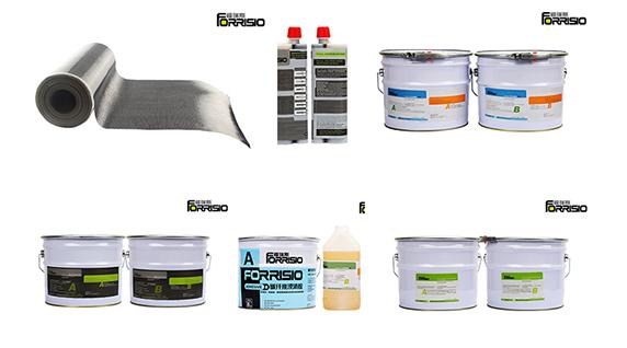 建筑结构加固通常会采购哪些加固材料?